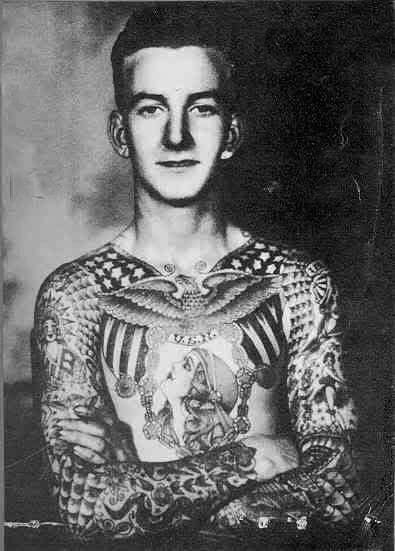 Awesome 1940s tattoos here!