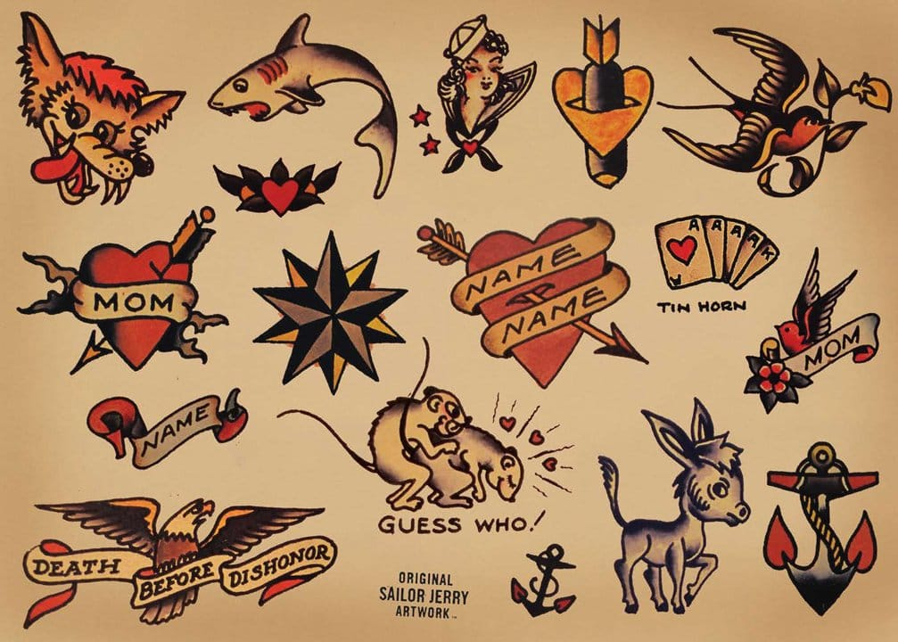More awesome Sailor Jerry flash