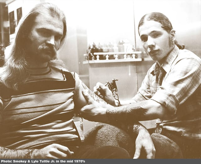 A snippet of 1970s tattooing