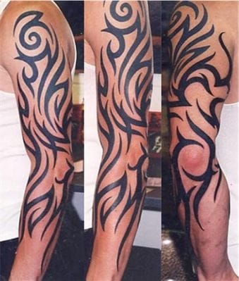 At one time tribal was the way to go for any one wanting a tattoo!!