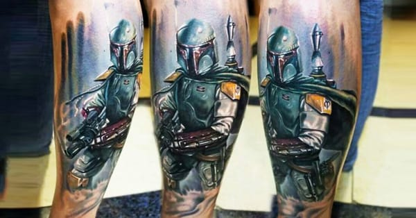 25 boba fett tattoos that kick ass tattoodo