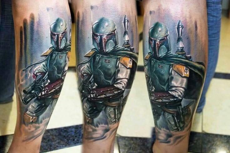 25 Boba Fett Tattoos That Kick Ass!