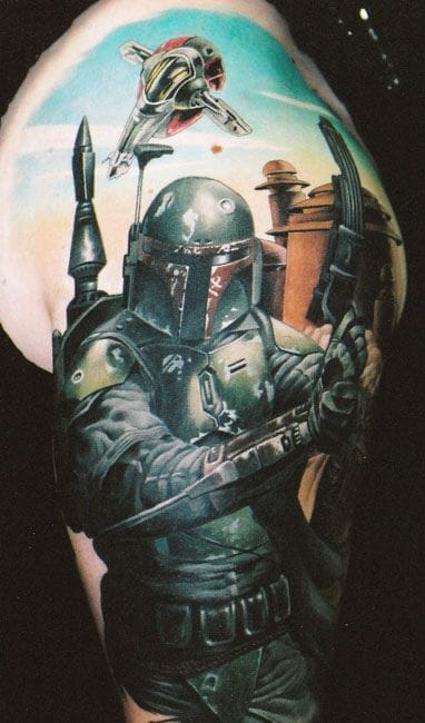 Amazing tattoo, unknown artist