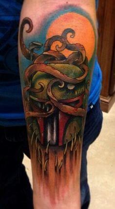 tattoo by Eddie Stacy