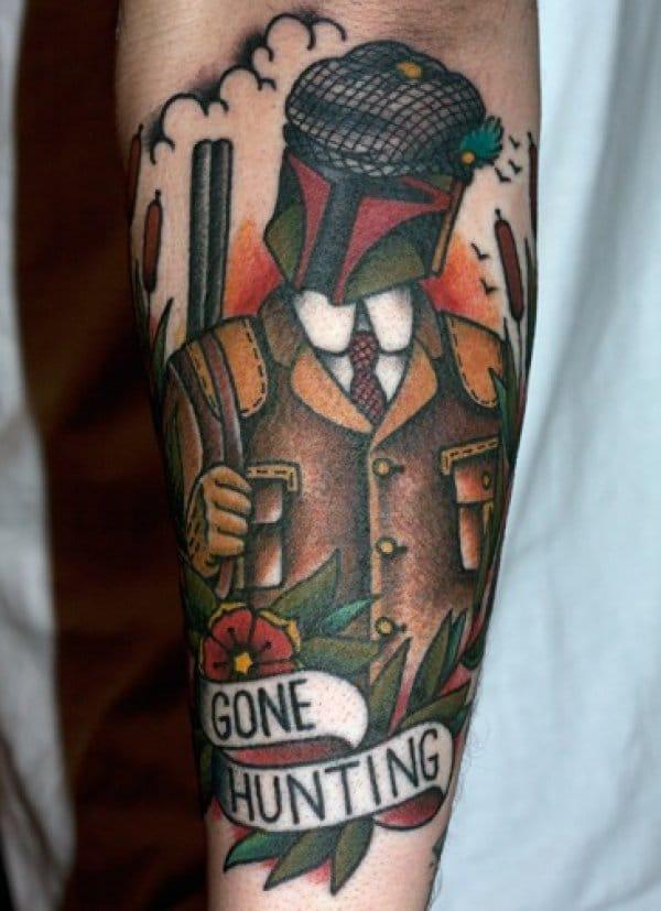 Boba Fett tattoo