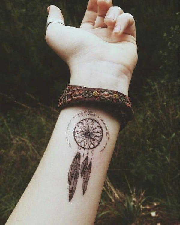 Dreamcatchers tattoo