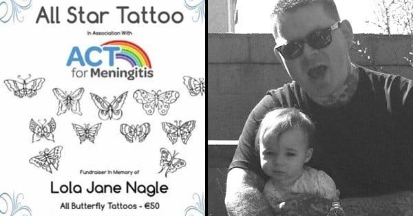 Tatuagem e Caridade Em Memória Da Pequena Lola Nagle
