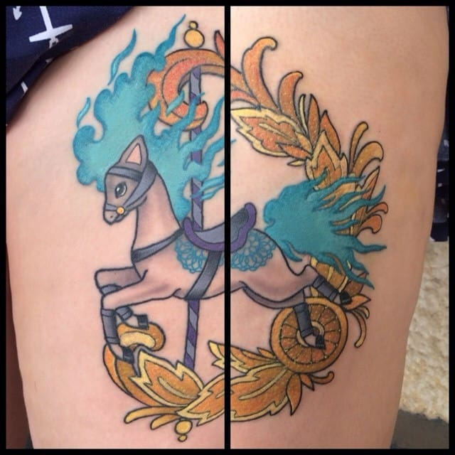 Lovely Ponyta by Simone Clare.