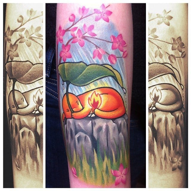 Lovely Charmander by Michelle Maddison.