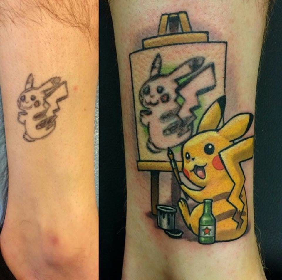 You can trust Lindsay Baker for a witty tattoo fix-up...