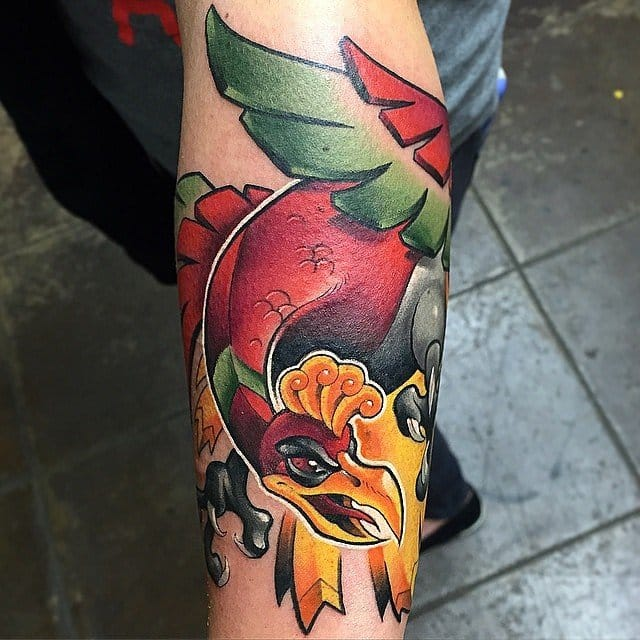 Ho-oh by Brandon at Outer Limits.