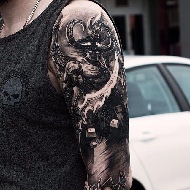 16 Badass Gaming Inspired Tattoos