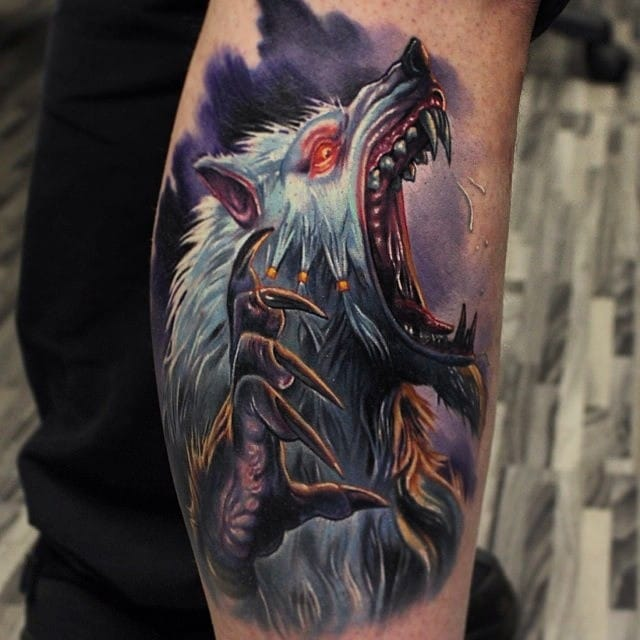 Rad Sabrewulf from Killer Instinct by Paul Acker...