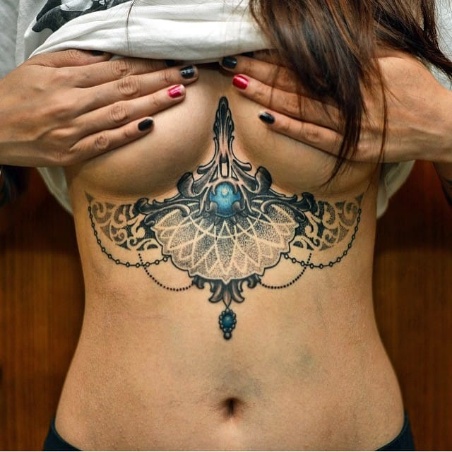 A mandala lady? Here by Jason Ante.