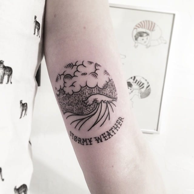 Cool little tattoo by Faustink...