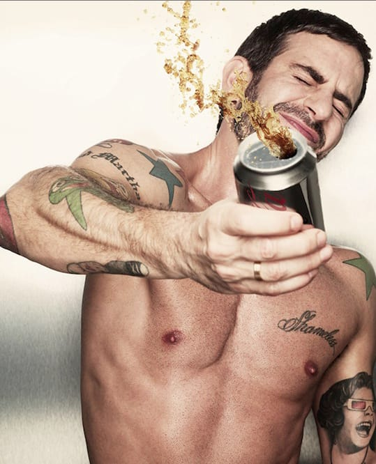 Marc Jacobs and His Tattoos That Are Just as Whacky as He Is