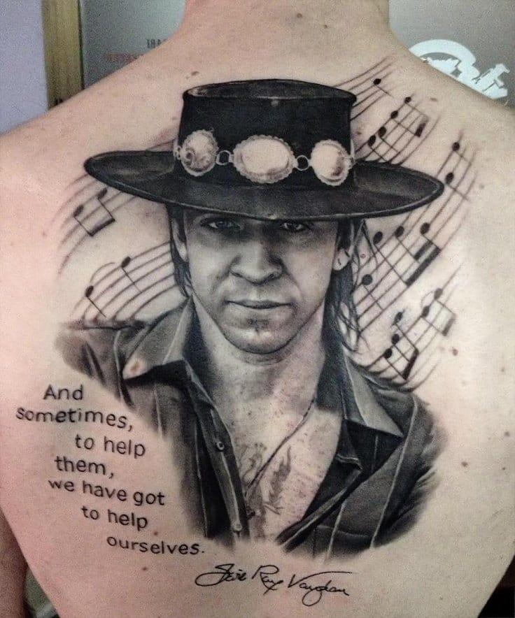 Blues Musician Tattoos