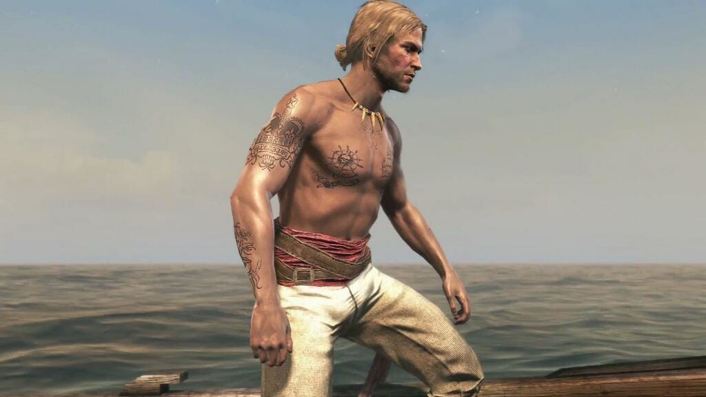 Edward Kenway from Assassins Creed Black Flag