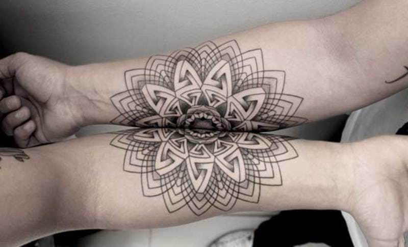 Geometrical work by Chaim Machlev of Dotstolines.