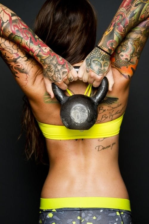 16 Fitness Tattoos For Your Motivation