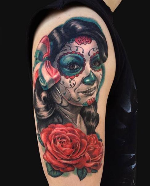 Tattoo by Jamie Lee Parker