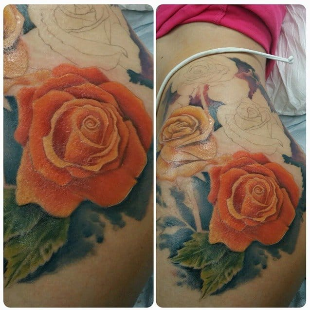 Love these Colorful Roses by Jskills