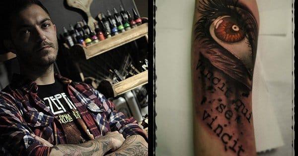Christos Galiropoulos: Tatuagens Realistas Direto da Grécia!