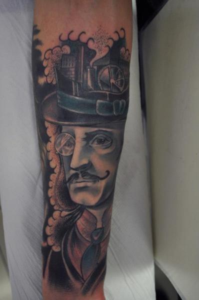 Fantasy Men Tattoo by Renaissance Tattoo