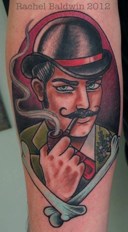 Gentleman pipe by Rachel Baldwin