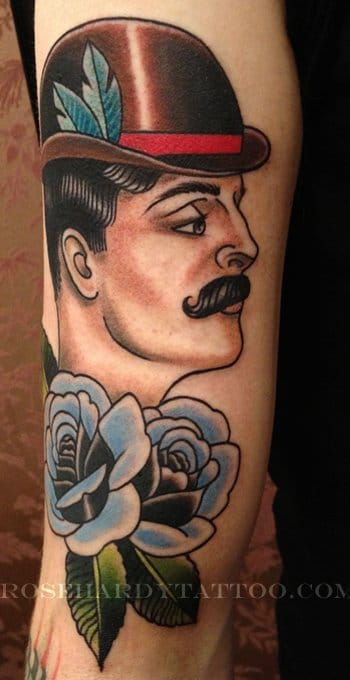 Great tattoo by Rose Hardy