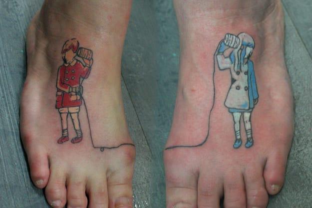 Very cute friendship tattoo !