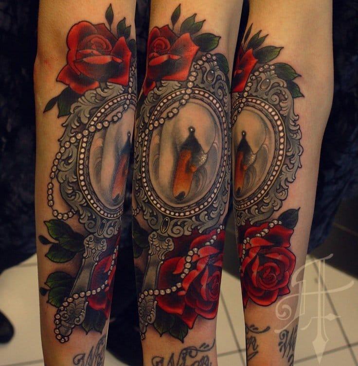 vanity tattoo By Antony Flemming