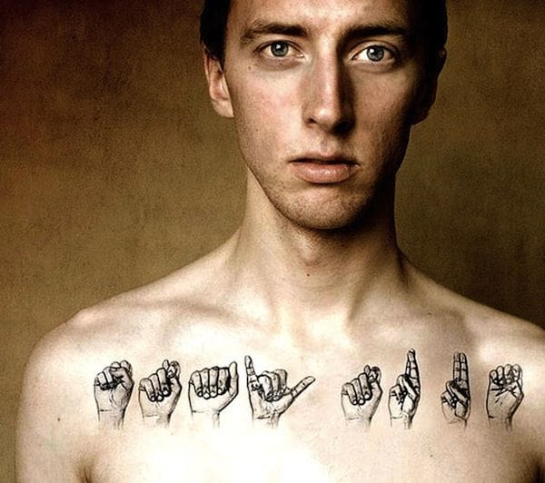 10 Incredible Sign Language Tattoos