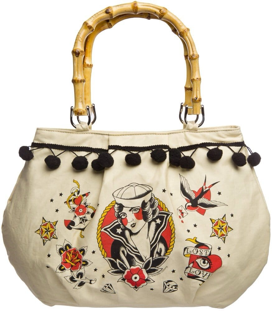 Beautiful Tattooed Purses, Totes & Handbags That Every Girl Must Have!