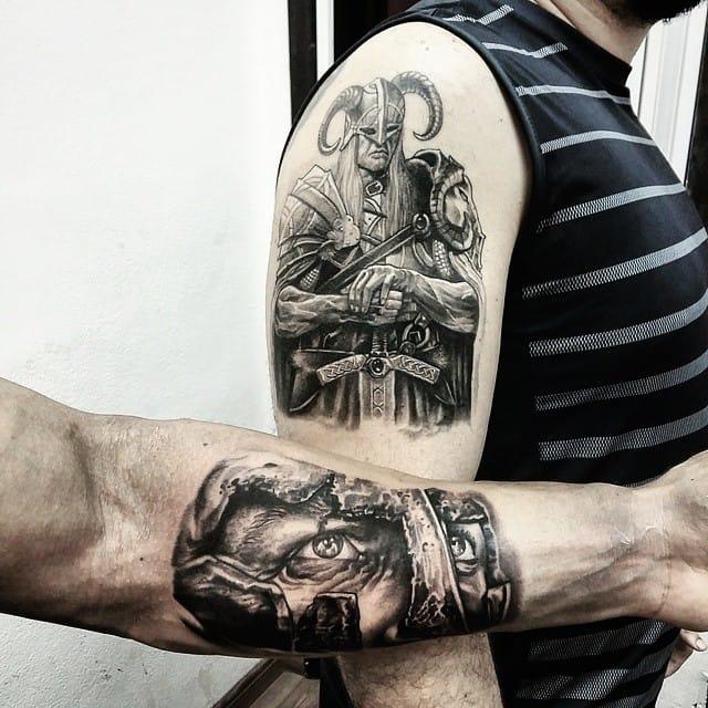 Viking e guerreiro espartano, Dallier