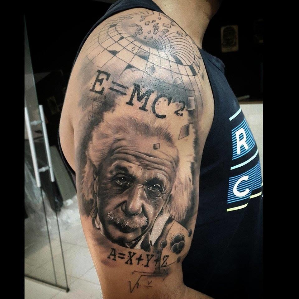 Incrível Einstein feito por Tony Gomes