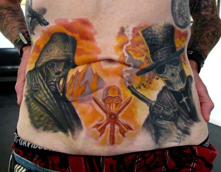 Awesome tattoo by Stéfano Alcántara