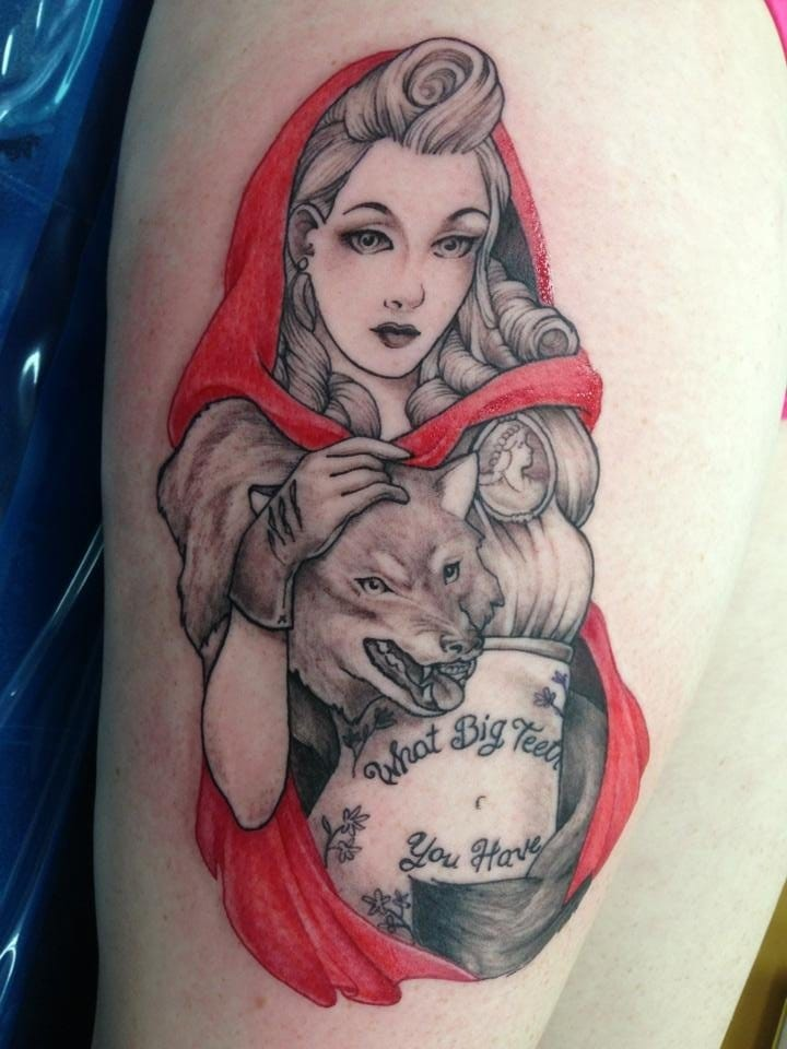 Tattooed Red Riding Hood by Conan.