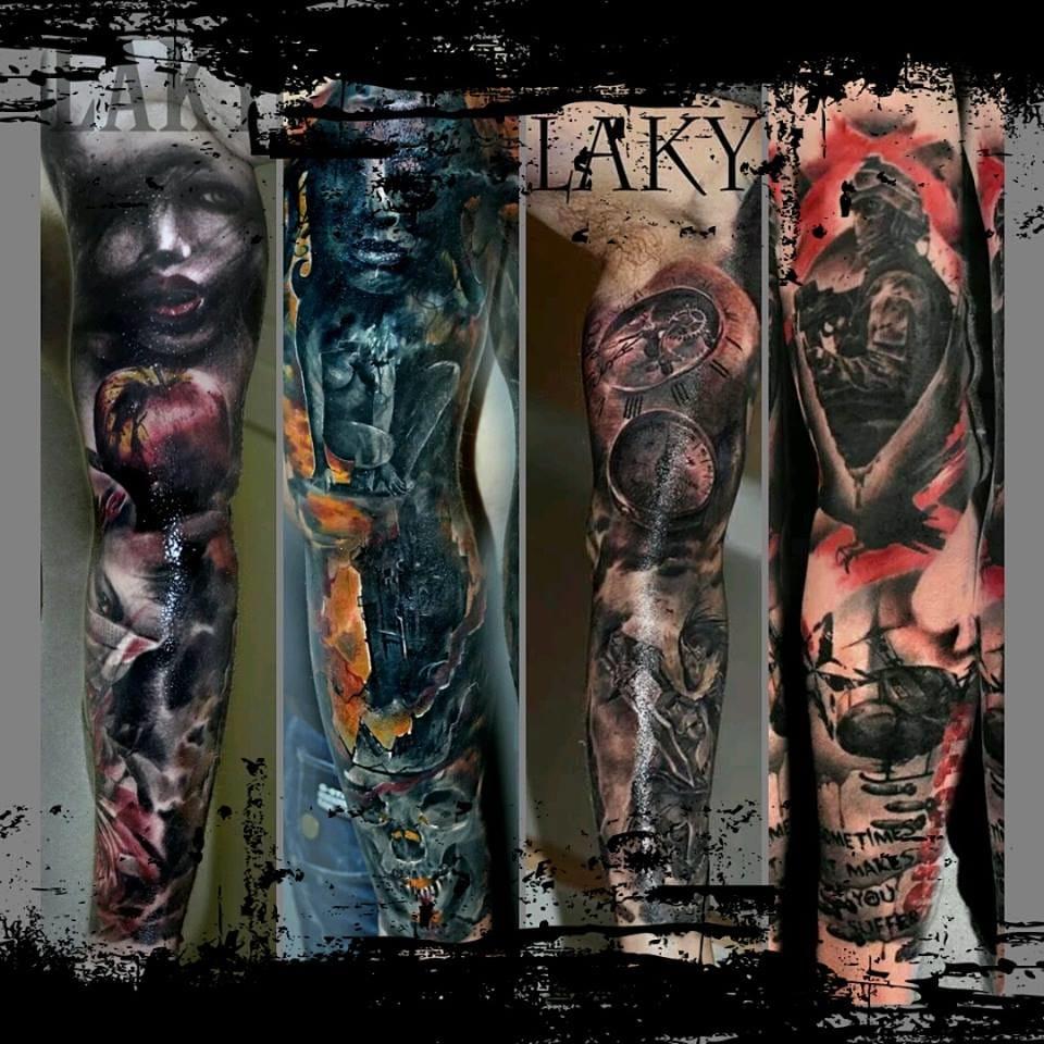 Laky Tattoos E Suas Tatuagens De Tirar O Fôlego! (Parte 2)