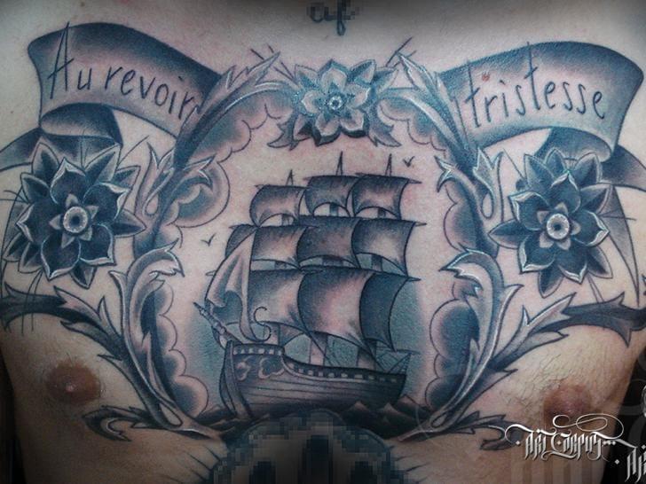 25 traditional black and grey tattoos tattoodo for Corpus christi tattoo shops