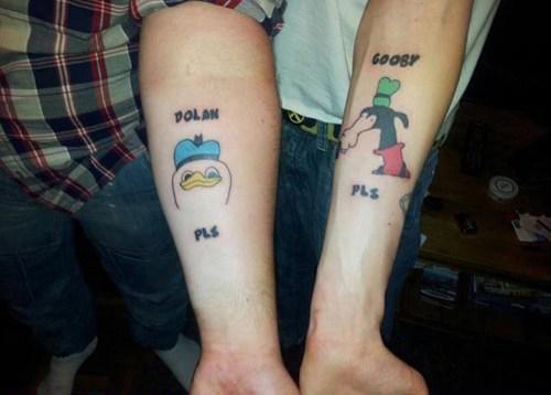 It's Dolan Duck & Gooby PLS!!!!