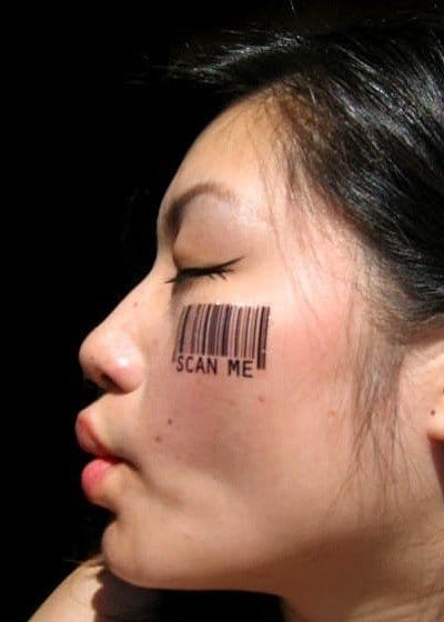 5 Reasons Why Barcode Tattoos Aren't Such A Great Idea