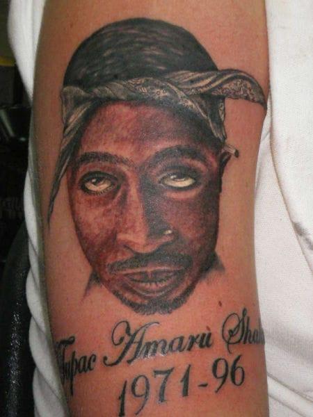 """The cross-eyed Tupac"""