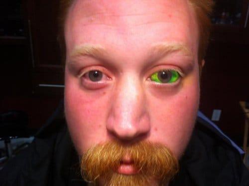 O Eyeball pode ser feito com todas as cores