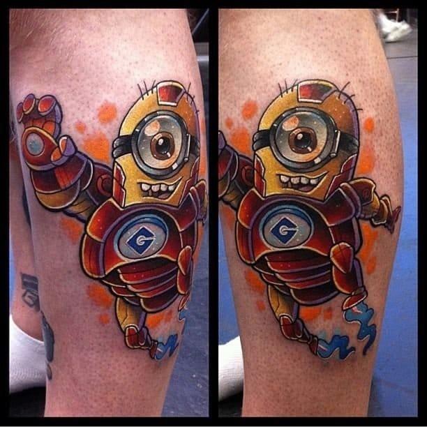 Tattoos By Ex Employees Iron Buzz Tattoos: 12 Super Cute & Adorable Minion Tattoos