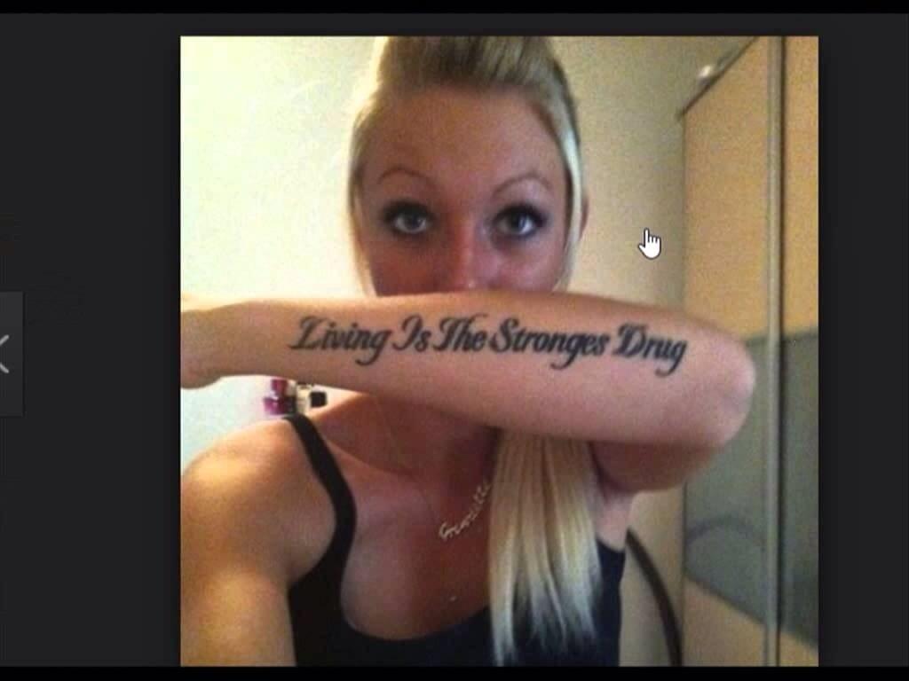 Tattoo spelling mistake