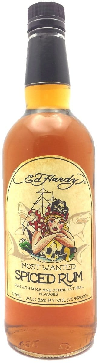 Don Ed Hardy's Most Wanted Spiced Rum