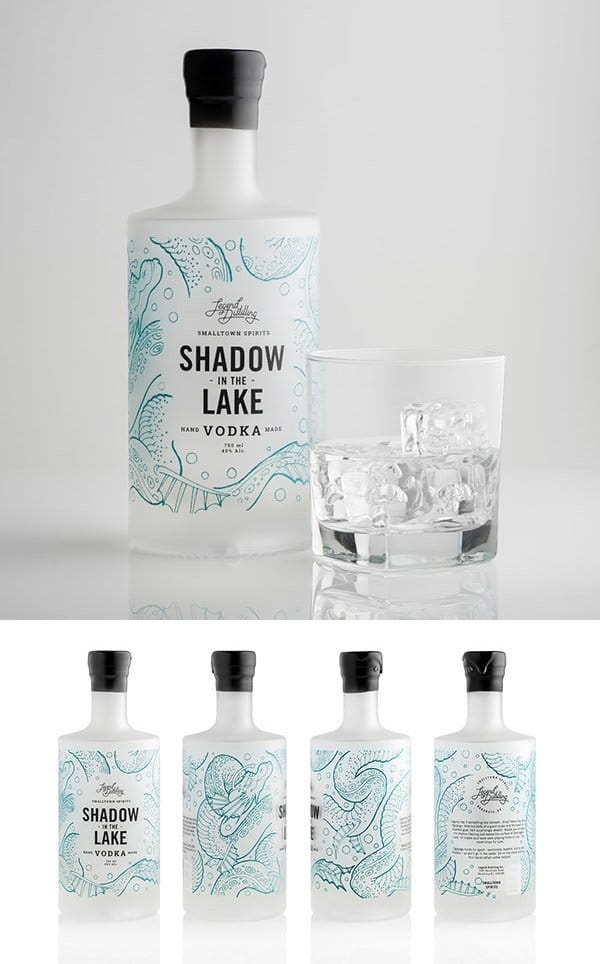 Shadow in the Lake Vodka by Also Known As
