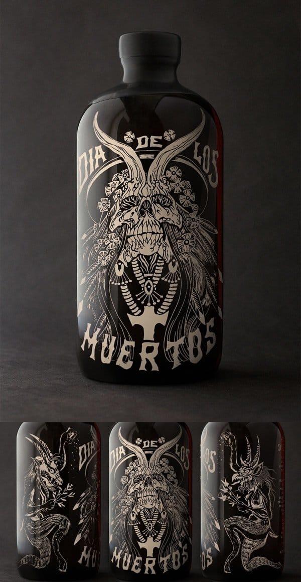 Dia De Los Muertos Horchata Spiced Rum by Tony Auston