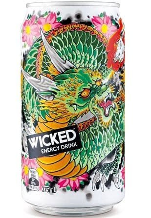 Care to mix it with energy drink? Damn this one looks powerful! Designed by Troy Denning (Tattooer)